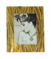 Portafotos resina 15x20 cm dorado