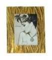 Resin photo frame 15x20 cm gold plated