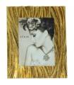 Portafotos resina 20x25 cm dorado