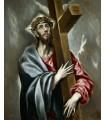 Christ embracing the cross (el Greco)