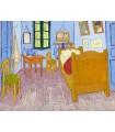 Dormitorio en Arlés (3ª versión) (van Gogh, 1889)