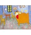 Dormitorio en Arlés (2ª versión) (van Gogh, 1889)