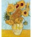 Jarrón con doce girasoles (van Gogh, 1888)