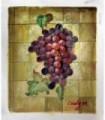 """Aglomerado de uvas """" Cindy M."""" Pintura a óleo sobre tela - Óleo sobre tela"""