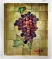 """Cluster of grapes """" Cindy M."""" Oil painting on canvas - Oil on canvas"""
