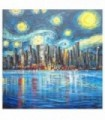 Starry night in the big city