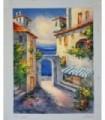 Mediterranean Corner 2 - Oil on canvas
