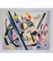 La geometría en lo abstracto - Óleo s/lienzo