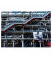 Pintura em vidro Pompidou Centre 150x110 cm