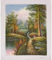 """Classical landscape """"Brian"""" 6 - Oil on canvas"""