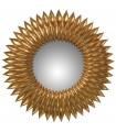 Espejo resina dorado ›51 cm