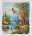 """Classical landscape """"Kingman"""" 5 - Oil on canvas"""