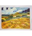 "Impressionist style landscape ""Gillian""."