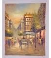 """Parisien """"H. Pascal"""" 1 - Huile sur toile"""