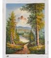 "Classical Landscape ""Classical Landscape ""Brian"" 1 - Oil on canvas"