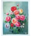 "Bouquet de flores 1 "" Marc"" - Óleo sobre tela"