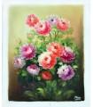 "Bouquet de flores 2 "" Marc"" - Óleo sobre tela"