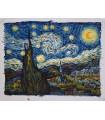 Noche estrellada - impresionismo - Óleo s/lienzo