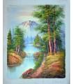 """Classic landscape """"Classic landscape """"Benglys"""" 2 - Oil on canvas""""."""