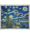 Noite estrelada - Van Gogh - Óleo sobre tela