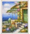 "Balconies to the sea ""Kelino"" 1 - Oil on canvas"