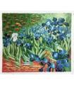 Os lírios - pós-impressionismo - Óleo sobre tela