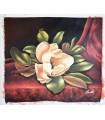 """Bodegón magnolia blanca """"Rassiter"""" - Óleo s/lienzo"""
